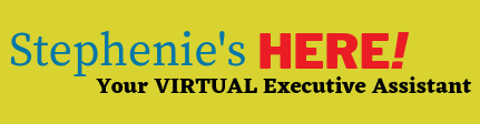 Stephenie's Here – Virtual Executive Assistant
